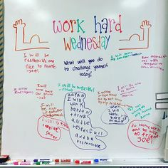 Already starting to think about how I can modify my whiteboards for my… Future Classroom, School Classroom, Classroom Activities, Daily Activities, Classroom Ideas, Morning Meeting Activities, Morning Meetings, Daily Writing Prompts, Bell Work