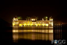 Jaipur, India at Night: Jai Mahal