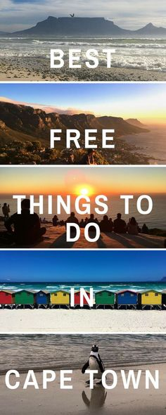 Best free things to do in Cape Town South Africa   #southafrica #capetown   Top 17 free things to do in Cape Town   #freethingstodo #thingstodo