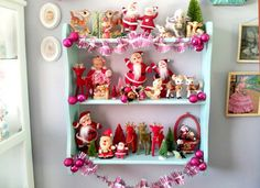 Vinnie Boy Vintage Kitsch Christmas home decorating