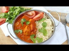 A quick and easy cook-from-scratch Chicken, Coconut & Tomato Curry recipe. Super mild and suitable for kids! Healthy Curry Recipe, Curry Recipes, Coconut Curry Chicken, Chicken Curry, Crockpot, Low Carb Greek Yogurt, Smoothies, Tomato Curry, Brunch
