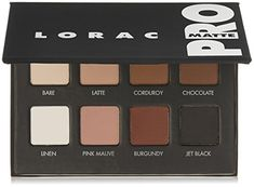 Go Pro with LORAC Pro Matte Palette. Created by celebrity makeup artist Carol Shaw, this Pro artistry palette is packed with 8 Eye Shadows in all the matte shades you need to create the hottest looks straight from the Red Carpet. Lorac Eyeshadow, Lorac Makeup, Matte Eyeshadow Palette, How To Apply Eyeshadow, Liquid Eyeshadow, Eye Makeup, Dramatic Eyeshadow, Fall Eyeshadow, Everyday Eyeshadow