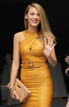 Blake Lively at #MFW