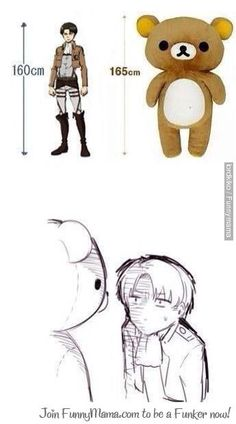 POOR LEVI: Hahaha I feel bad for him though...