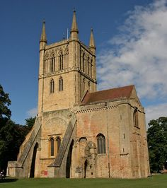 Pershore Abbey, at Pershore in Worcestershire, was an Anglo-Saxon abbey and is now an Anglican parish building