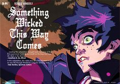 Something Wicked This Way Comes by Ronald Wimberly, via Behance