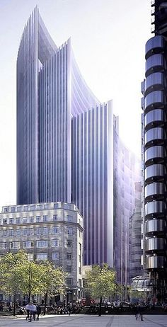 Willis Building by architects Norman Foster & Partners in London