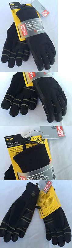 Gloves and Mittens 105559: New Mountain Hardwear Women S Maia Glove Ol5421-010 Ski Snow Gloves M Snowboard -> BUY IT NOW ONLY: $59.95 on eBay!