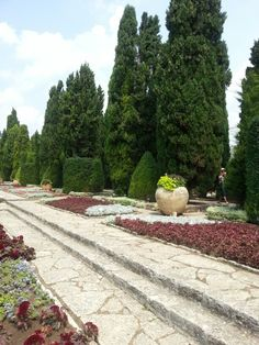 Balchik castle and botanical garden, Bulgaria