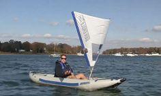 Advantages of Kayaking with a Sail Kayaking, Canoeing, Kayak Accessories, Inflatable Kayak, Rando, Small Boats, Water Sports, Surfboard, Sailing
