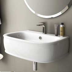 Azuley Wall-Hung Washbasin
