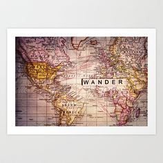 wander Art Print by Sylvia Cook Photography - $19.00