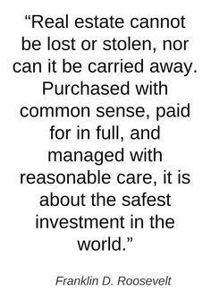 Trust on the safest investment on earth. : Real Estate  #realestate #bestinvestment #propertyforsale