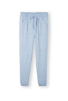 Chambray Utility Pant, Country Rosd, $99 Lounge Pants, Chambray, Sunshine Sunshine, Cool Style, Khaki Pants, Sweatpants, Lady, Womens Fashion, Casual