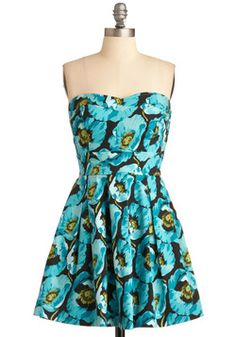 Bouquet of Style Dress, #ModCloth