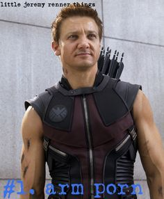 Little Jeremy Renner Things #1: Arm Porn