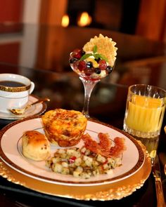 #Breakfast | A delicious breakfast display at The Caldwell House located in Abbeville, LA.