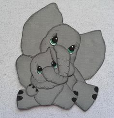 Items similar to elephant mom and baby paper piecing by my tear bears by kira on Etsy Baby Scrapbook, Scrapbook Paper Crafts, Scrapbook Cards, Mom And Baby Elephant, Elephant Love, Elephant Paper Piecing, Paper Piercing Patterns, Use E Abuse, Paper Dolls