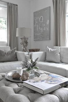 Dove Gray Home Decor White Grey Living Room Thuis Woonkamer Woongedeelte