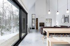 V kanadské provincii Quebec vyrostla okouzlující Vila Boréale, navržená za…