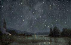 1900 starry sky of the equator original by antiqueprintstore