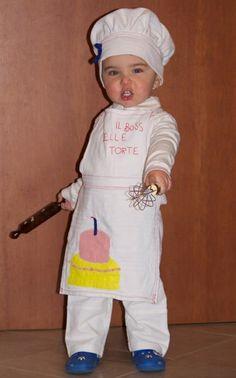Il costume da cuoco  Autrice: Sara - Piccoli Master Chef crescono?