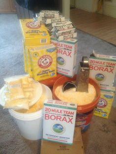 Fels Naptha Borax Washing Soda Laundry Soap Kit | eBay