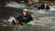 Boulder's Tube to Work Day hits the creek  http://mycoloradotravel.com