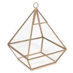 PORTOBELLO glass pyramid H 21 cm