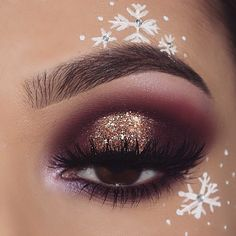 """152.9k Likes, 546 Comments - Morphe (@morphebrushes) on Instagram: """"When you're really excited for the holidays. ❄️ @nasiabelli combined her love for winter, and the…"""""""