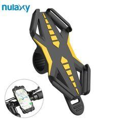 LIOOBO Mount Bracket Handlebar Clip Stand Bicycle Anti-Slip Adjustable Phone Holder Bike
