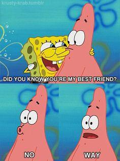 Spongebob's secret