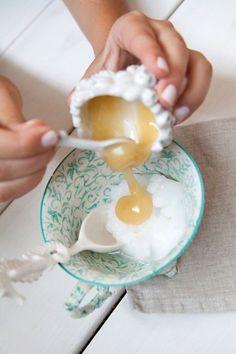 masque cheveux huile de coco masque capillaire miel coco
