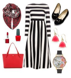 """""""❤️❤️❤️"""" by vilush on Polyvore featuring мода, Olivia Burton, Tory Burch, Valentino, Clinique, OPI, McQ by Alexander McQueen и Kate Spade"""