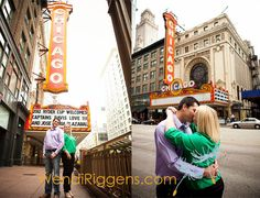 Fun engagement session that I shot in Chicago!