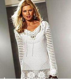 Crochet+Tunic+Dress+Pattern   crochet tunic dress pattern diagrams pdf