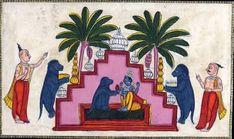 Krishna's Marriage To Jambavati, The Daughter Of Jambavanhttp://www.findmessages.com/know-about-jambavati-third-wife-of-lord-krishna