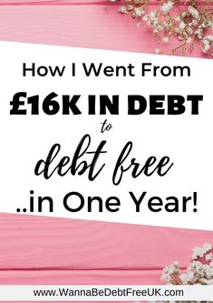 It took me one year to pay off my 16,000 debt in full. Read my story to find out how I paid off my debt so quickly and how you can, too.