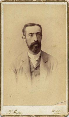 Mon, Juan: retrato caballero, CDV 1888. Hesperus´ Collection