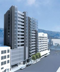 Elevate Apartments, Wellington: new apartments being built. Look nice. I'd prefer Unit A to any other. (any floor).