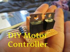 Picture of DIY MOSFET Motor Controller