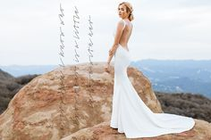 Form Fitting Fabulosity & Bare Backed Beauties: Katie May Fall Lookbook on http://www.confettidaydreams.com/katie-may-wedding-dresses/  #KatieMay #BacklessWeddingDress #backless