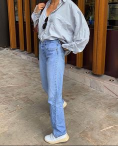 Looks Street Style, Looks Style, Style Me, Cute Casual Outfits, Fall Outfits, Summer Outfits, Vintage Jeans, Look Fashion, Fashion Outfits