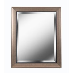 Kenroy Home 60356 Ellory 24 in. Wall Mirror in Champagne/Black, Transitional Round Wall Mirror, Wall Mounted Mirror, Beveled Mirror, Dresser With Mirror, Beveled Glass, Distressed Bathroom Vanity, Leaner Mirror, Cheval Mirror, Glass Center