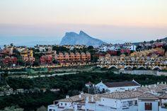 The Rock of Gibraltar. Alcaidesa, Costa del Sol, Andalusia, Spain, Europe   www.DoLessGetMoreDone.com  