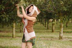 Pixie Coat Hoodie/Summer Cape Hood/Festival Fairy by GipsyGreen, €69.21