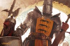Gregor Clegane, The Mountain That Rides by Michael Komarck, for Fantasy Flight Games' A Game of Thrones CCG
