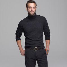 J.Crew Wool-cashmere turtleneck sweater