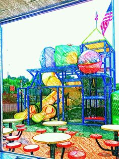 Plz.re-pin with artist's name/link intact Thanks.#playgrounds #outdoorphotography #childrensslide ARTography by Pamela copyright 2013 All rights reserved Pamela Smale Williams Image Wizards Photography http://imagewizardsphotography.biz