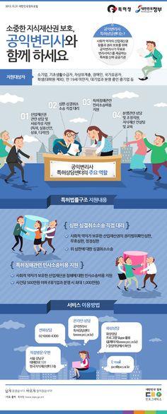 공익변리사와 함께 하는 지식재산권 보호 (출처: 특허청, 제작:대한민국 정부포털 www.korea.go.kr)